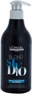 L'Oréal Professionnel Blond Studio Post Lightening szampon po rozjaśnianiu, pasemkach i dekoloryzacji