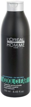 L'Oréal Professionnel Homme Cool Clear Anti-Dandruff Shampoo