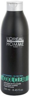 L'Oréal Professionnel Homme Cool Clear Shampoo gegen Schuppen