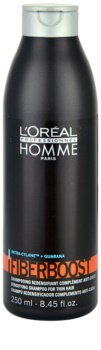 L'Oréal Professionnel Homme Fiberboost sampon a sűrű hajért