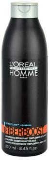 L'Oréal Professionnel Homme Fiberboost šampón pre hustotu vlasov