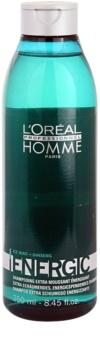L'Oréal Professionnel Homme Energic tisztító sampon mindennapi használatra