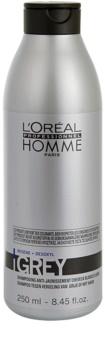 L'Oréal Professionnel Homme Grey Shampoo für graues Haar