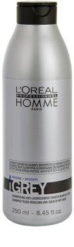L'Oréal Professionnel Homme Grey Shampoo  voor Grijs Haar