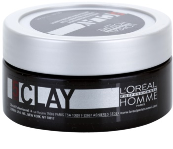 L'Oréal Professionnel Homme 5 Force Clay Modelerende Klei  Sterke Fixatie