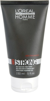 L'Oréal Professionnel Homme 6 Force Strong Haargel  Extra Sterke Fixatie