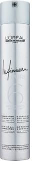 L'Oréal Professionnel Infinium Pure hypoalergénny lak na vlasy s extra silnou fixáciou