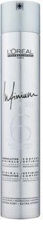 L'Oréal Professionnel Infinium Pure spray de cabelo hipoalergénico com fixação extra forte