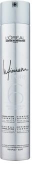 L'Oréal Professionnel Infinium Pure spray de cabelo hipoalergénico fixação ligeira