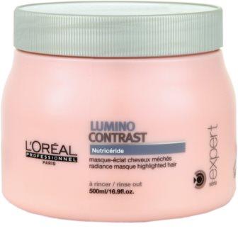 L'Oréal Professionnel Série Expert Lumino Contrast máscara regeneradora para cabelos com madeixas