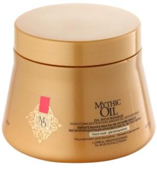 L'Oréal Professionnel Mythic Oil masca hrănitoare pentru păr gros și indisciplinat