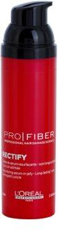 L'Oréal Professionnel Pro Fiber Rectify leöblítést nem igénylő szérum vékonyszálú és normál hajra
