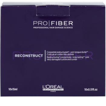 L'Oréal Professionnel Pro Fiber Reconstruct regeneráló ápolás a nagyon száraz és sérült hajra