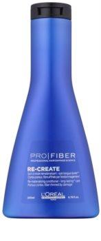 L'Oréal Professionnel Pro Fiber Re-Create obnovující kondicionér pro jemné a poškozené vlasy