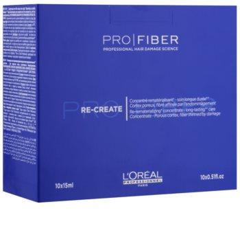 L'Oréal Professionnel Pro Fiber Re-Create tratamento concentrado para cabelo fino e danificado