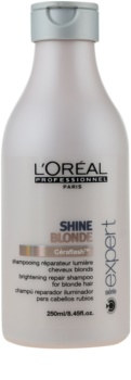 L'Oréal Professionnel Série Expert Shine Blonde champô para cabelo loiro e grisalho