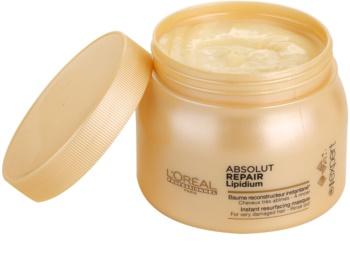 L'Oréal Professionnel Série Expert Absolut Repair Lipidium erneuernde Maske für stark geschädigtes Haar