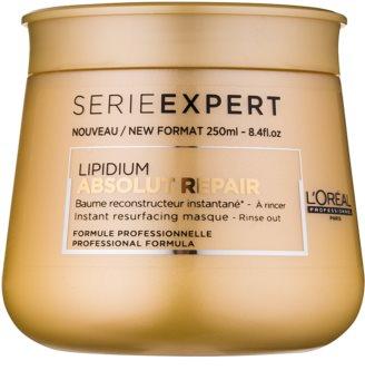 L'Oréal Professionnel Serie Expert Absolut Repair Lipidium regenererende sheet mask voor Sterk Beschadigd Haar