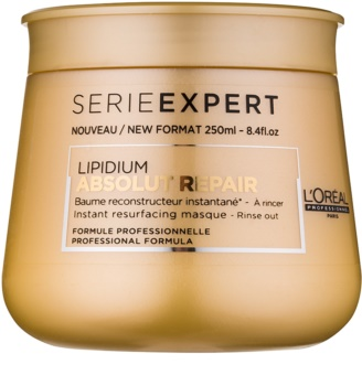 L'Oréal Professionnel Serie Expert Absolut Repair Lipidium регенерираща маска  за силно увредена коса