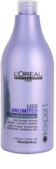 L'Oréal Professionnel Série Expert Liss Unlimited uhladzujúci kondicionér pre nepoddajné a krepovité vlasy