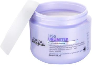 L'Oréal Professionnel Série Expert Liss Unlimited uhlazující maska pro nepoddajné a krepatějící se vlasy