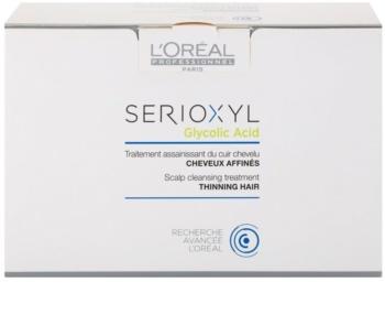 L'Oréal Professionnel Serioxyl Glycolic Acid hajtisztító kúra ritkuló hajra