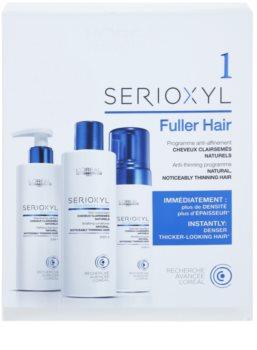 L'Oréal Professionnel Serioxyl GlucoBoost + Incell Fuller Hair Sminkset I. (För uttunnade av hår)