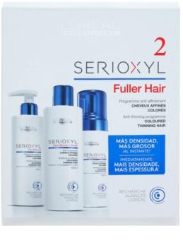 L'Oréal Professionnel Serioxyl GlucoBoost + Incell Kosmetik-Set  II. für Damen