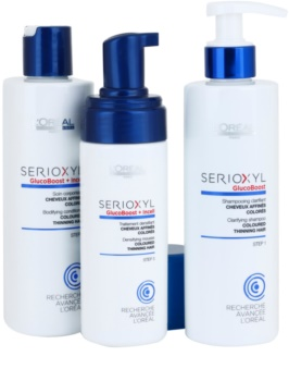 L'Oréal Professionnel Serioxyl GlucoBoost + Incell Kosmetik-Set  II.