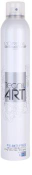 L'Oréal Professionnel Tecni.Art Fix Anti Frizz fixáló spray töredezés ellen