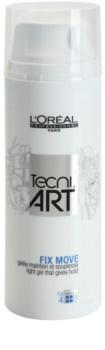 L'Oréal Professionnel Tecni.Art Fix Move könnyű gél a formáért és a fixálásért