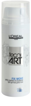 L'Oréal Professionnel Tecni.Art Fix Move Lättviktigt gel För fixering och form