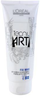L'Oréal Professionnel Tecni.Art Fix Max gel de cabelo para fixação e forma