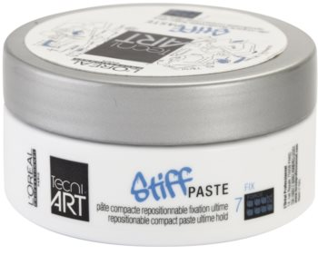 L'Oréal Professionnel Tecni Art Stiff pasta modelującapasta modelująca z matowym wykończeniem