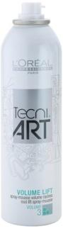 L'Oréal Professionnel Tecni Art Volume Styling Schaum für einen volleren Haaransatz