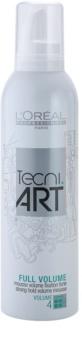 L'Oréal Professionnel Tecni.Art Full Volume espuma fijadora extra fuerte  para dar volumen