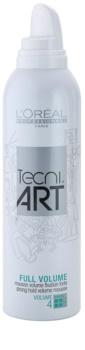 L'Oréal Professionnel Tecni Art Volume espuma fijadora extra fuerte  para dar volumen