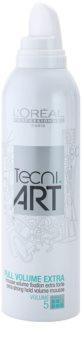 L'Oréal Professionnel Tecni Art Volume espuma de cabelo para volume extra