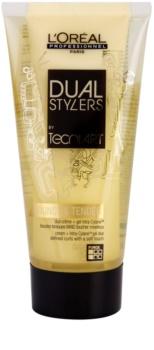 L'Oréal Professionnel Tecni Art Dual Stylers gel krém pro vytvarování vln