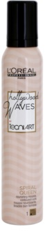 L'Oréal Professionnel Tecni.Art Hollywood Waves Styling Mousse For Flexibility Of Waves
