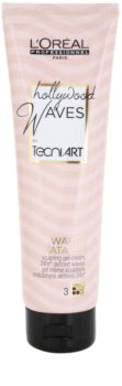 L'Oréal Professionnel Tecni Art Hollywood Waves Gel-Creme für Definition und Form