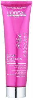L'Oréal Professionnel Série Expert Vitamino Color AOX cremă corectoare pentru păr șaten