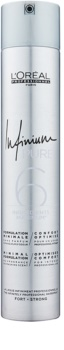 L'Oréal Professionnel Infinium Pure hypoalergiczny lakier do włosów mocno utrwalający
