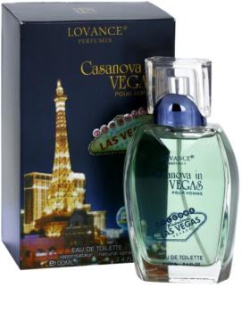 Lovance Casanova in Vegas eau de toilette férfiaknak 100 ml