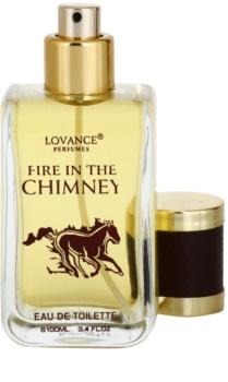 Lovance Fire In The Chimney Eau de Toilette para homens 100 ml