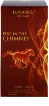 Lovance Fire In The Chimney Eau de Toilette voor Mannen 100 ml