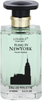 Lovance Fling in New York toaletná voda pre mužov 100 ml