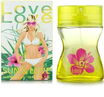 Love Love Sun & Love toaletna voda za žene 100 ml