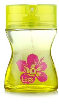 Love Love Sun & Love Eau de Toilette voor Vrouwen  100 ml