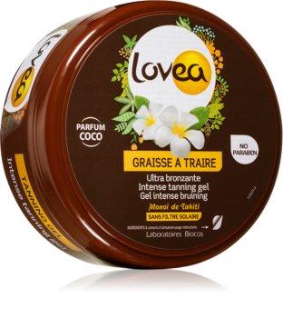 Lovea Tanning Gel Coco intensive Gel-Creme für die Breunung